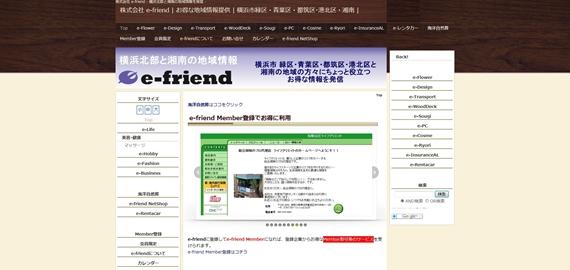 株式会社 e-friend 様